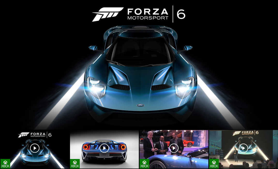 ForzaMotorsport 6に向けて。