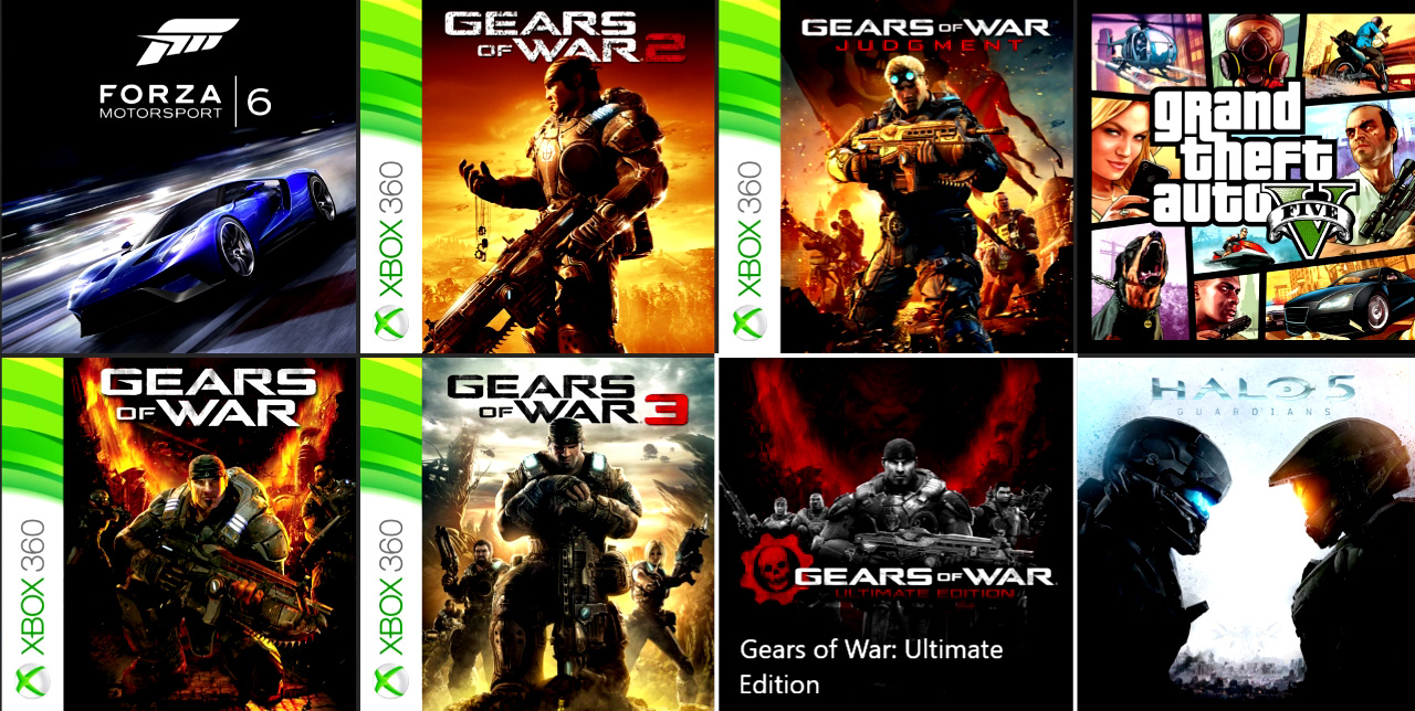 Gears of War Ultimate Editionの過去作コード届きました。