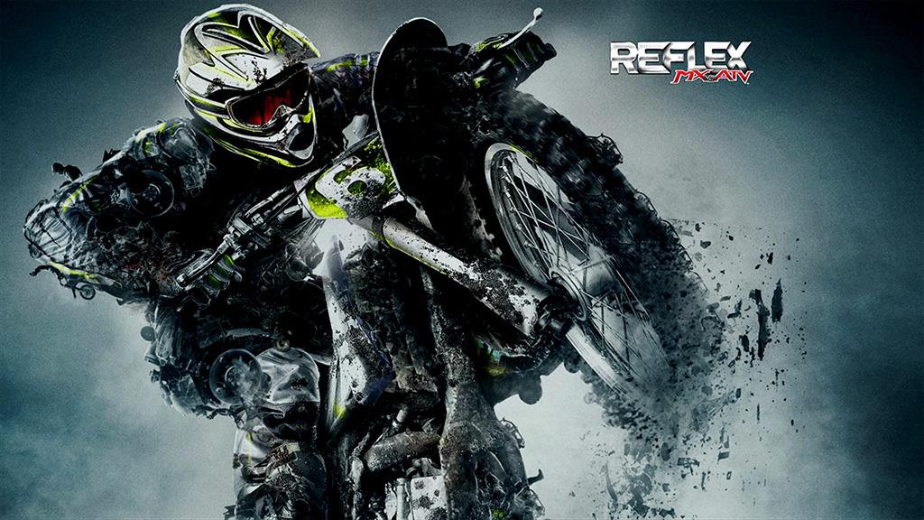 バイクゲームMX vs ATV Reflex始めたよ。